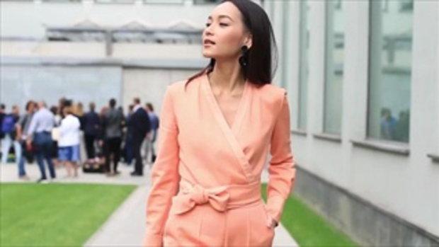 บี-น้ำทิพย์ ร่วมนั่งฟร้อนท์โรว์ชมแฟชั่นโชว์ Giorgio Armani ที่ Milan Fashion Week กับ Vogue ประเทศไท