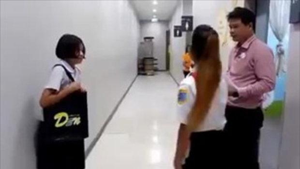 คลิปนักเรียนร้องไห้ หลังถูกกล่าวหาขโมยเสื้อนักเรียน โลตัสบางใหญ่