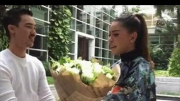 เป็กกี้ ศรีธัญญา เขินแรง แฟนหนุ่มให้ดอกไม้ ประกาศลั่นแต่งแน่นอน