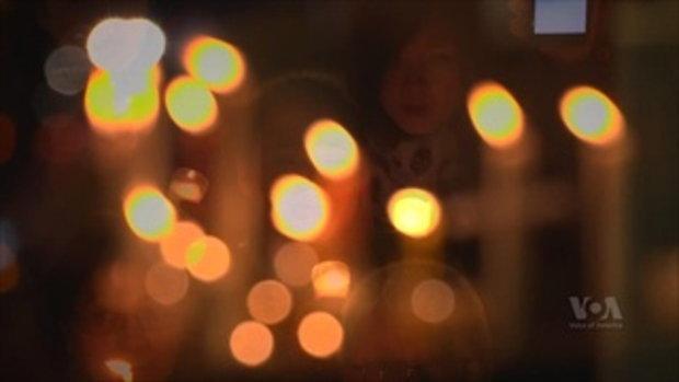 ค่ำคืนแห่งแสงเทียนและคราบน้ำตาแห่งความภักดี ที่วอชิงตัน ดีซี