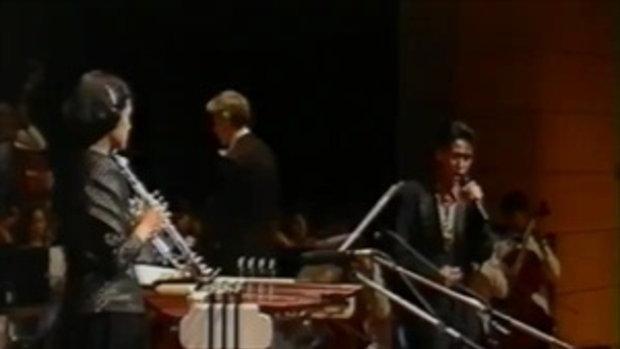 สมเด็จพระเทพฯ ทรงทรัมเป็ตเพลง คู่กัด ในคอนเสิร์ตสายใจไทย ครั้งที่ 5