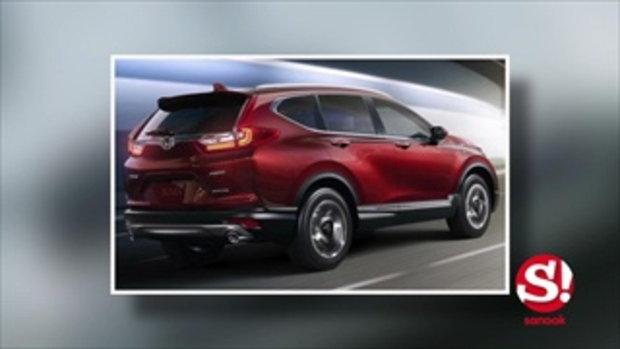 2017 Honda CR-V ใหม่ ได้เครื่องเทอร์โบ 1.5 ลิตร เพิ่มแรงเป็น 190 ม้า