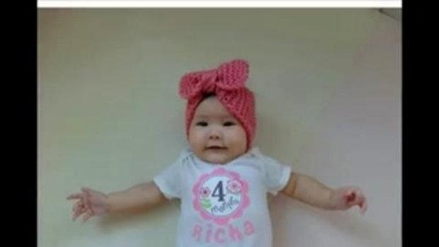 น่าเอ็นดู!! เผลอแป๊บเดียว น้องริชา ลูกสาว แอน ภูริ อายุครบ 4 เดือนแล้ว!!