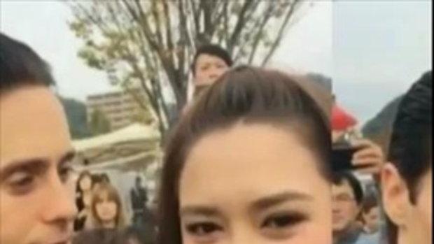 สายตาที่เธอมองมา! จาเรด เลโต มอง แพทริเซีย กู๊ด ด้วยสายตาหวานซึ้ง!!