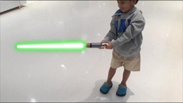 เล่น ดาบสตาร์วอร์ | ดาบเลเซอร์ | Star war | ของเล่นเด็กผู้ชาย | Lightsaber