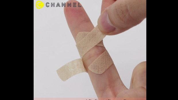 เทคนิคดีๆเกี่ยวกับการติดพลาสเตอร์ยา (Bandage Technique)