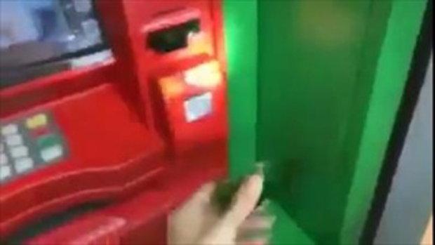 เตือนภัยก่อนกด ATM อย่ากดผ่านเรื่องนี้ใกล้ตัวมาก