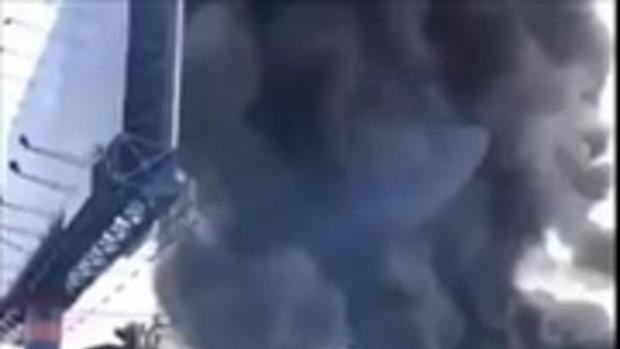 ด่วน!! ปั้ม LPG ระเบิด สี่แยกคลองหวะหาดใหญ่ จ สงขลา