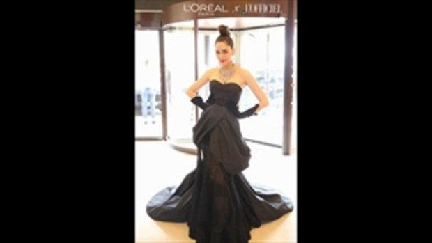 วันที่ 2 !! ที่เมืองคานส์ รวมรูป 'ชมพู่ อารยา' กับชุดหรูสีดำ ปังมั้ยนะ