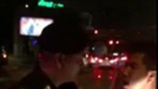 ตำรวจนักเลงเหรอ ไม่ชนก็บบุญแล้ว