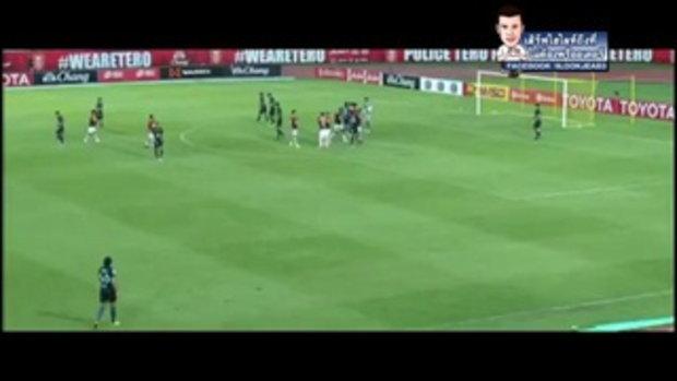 ไฮไลท์การทำประตู ฟุตบอลไทยลีก โปลิส เทโร เอฟซี 2-2 บุรีรัมย์ ยูไนเต็ด - 21-05-2017