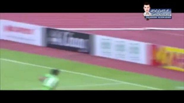ไฮไลท์การทำประตู ฟุตบอลไทยลีก แบงค๊อก ยูไนเต็ด 4-0 สุพรรณบุรี เอฟซี - 21-05-2017