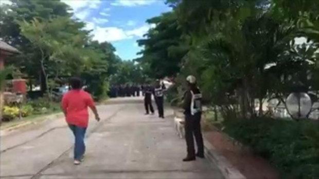 ตำรวจคุมตัว เปรี้ยว ทำแผนประกอบคำรับสารภาพ