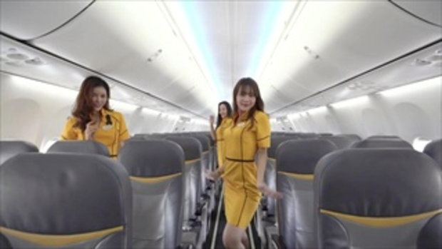 Toxic (cover) by Nok Air Crew to Welcome Britney Spears Live in Bangkok 2017