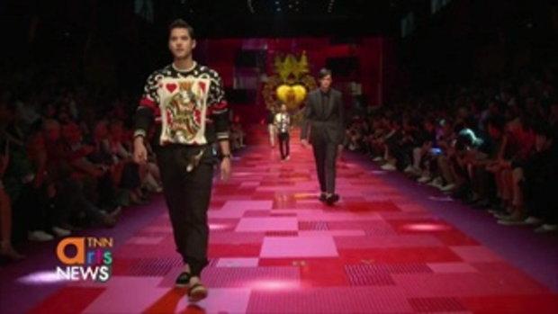 มาริโอ้ ร่วมเดินแฟชั่นโชว์กับแบรนด์ดังที่ Milan Fashion Week