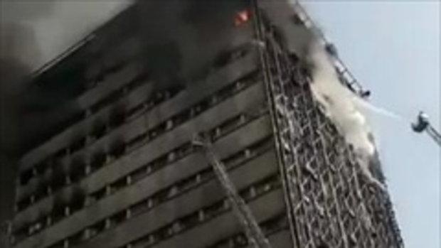 กรณีศึกษากันได้เลยนะ...ไฟไหม้ตึก แต่สุดท้าย ดูให้จบ