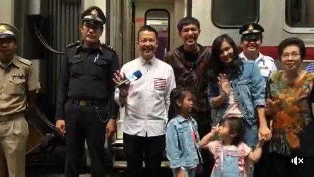 ศุกร์สุดสัปดาห์ไม่มีอะไรดีกว่า #ไปเที่ยว ครับ 'หนุ่ย พงศ์สุข' และครอบครัวจะใช้ #รถไฟไทย ล่องใต้ไปจนถ