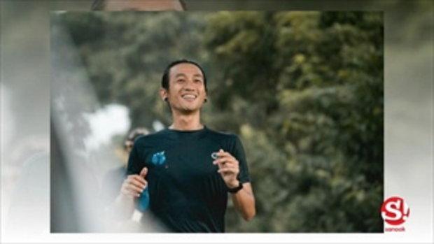 ตูน บอดี้สแลม ซ้อมวิ่งหาทุนช่วยทหาร เกิดอุบัติเหตุตกท่อขาเจ็บ
