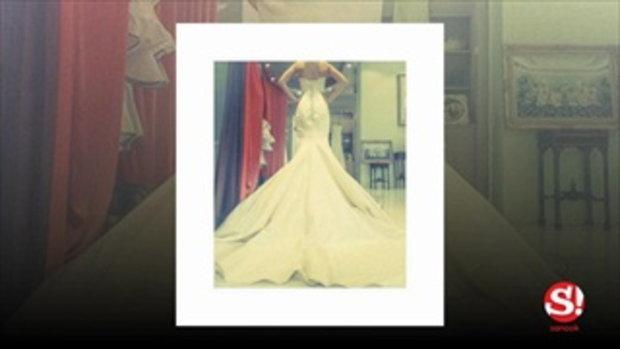 ภาพมาแล้ว! เนย เนโกะจัมพ์ ลองชุดแต่งงาน สวยเป๊ะมาก