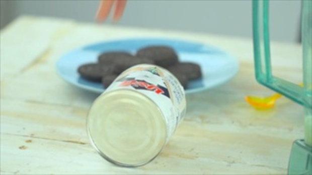 Mint Choc milkshake เครื่องดื่มคลายร้อน ในวันที่อากาศอบอ้าววว