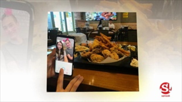 ภาพชัดรีเทิร์น แตงโม ทานข้าวพร้อมหน้าครอบครัวแต๊งค์