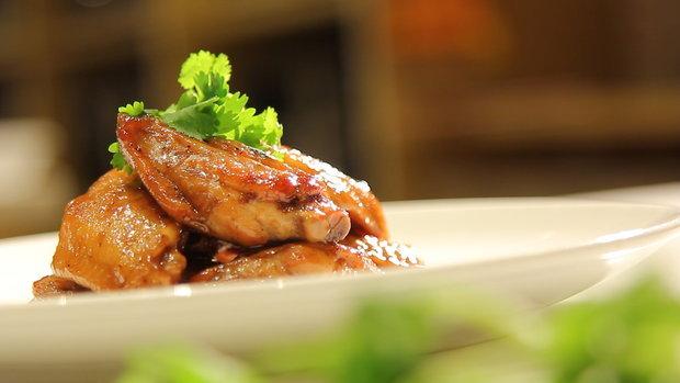 Sanook good stuff : ปีกไก่ทอดโค้ก
