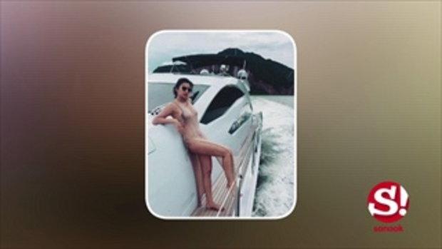เอมมี่ มรกต โชว์ลีลาเป็นเด็กเรือ เผ็ดแบบพริกยกสวน