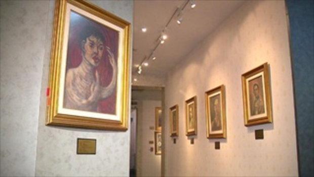 รายงานสิ้นปี...ศิลปะแห่งองค์อัครศิลปิน  งานจิตรกรรมฝีพระหัตถ์