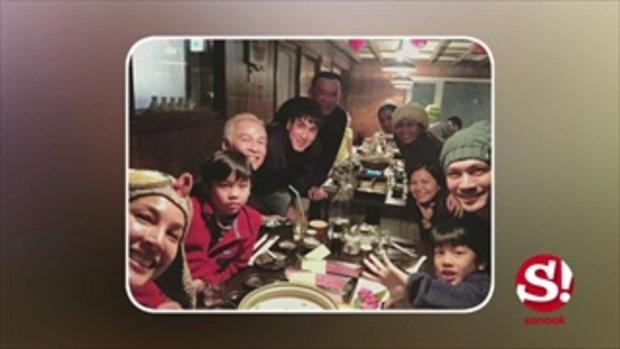 หล่อคูณสอง! ณเดชน์ - เคน ธีรเดช พาครอบครัวตะลุยหิมะฮอกไกโด