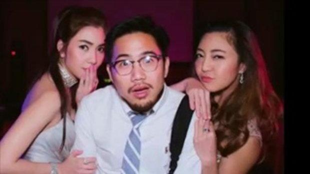 มองแรงส์กันทั้งงาน ! เมื่อ วุ้นเส้น ควง  แฟนเพื่อน ในงานแต่งเพื่อนสนิท !