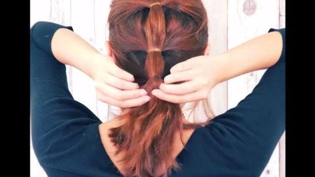 3 Steps knot pony มัดหางม้าน่ารัก แค่ 3 ขั้นตอน