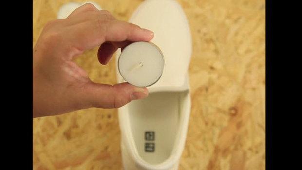 Water Resist Canvas เคลือบกันน้ำให้รองเท้าผ้าใบ