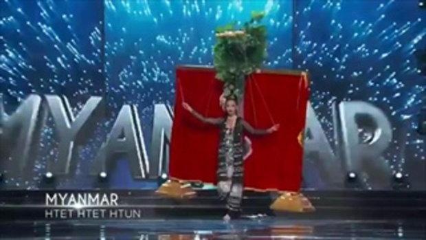 ชุดประจำชาติ Miss Universe 2016 พม่า