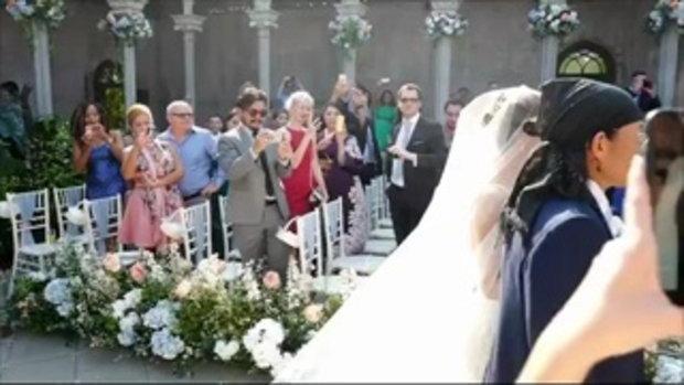 น้าแอ๊ด คาราบาว ส่งลูกสาวเข้าพิธีแต่งงาน