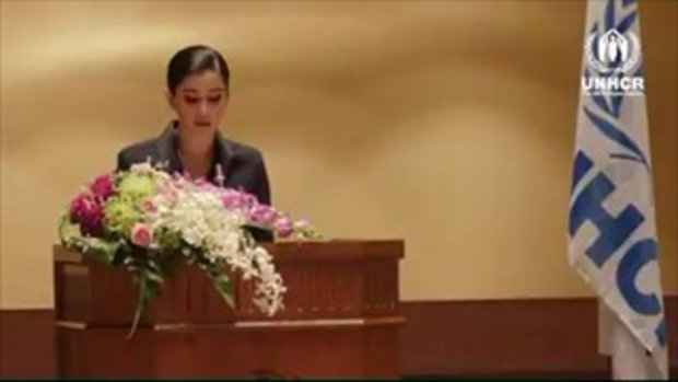 ปูไปรยาเป็นทูตสันถวไมตรีUNHCRคนแรกไทยและเอเชียตะวันออกเฉียงใต้
