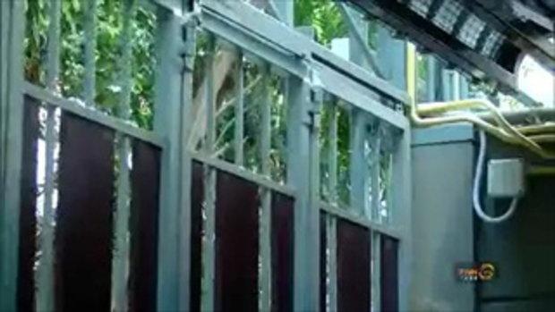 โจรไฮเทคปลดล็อคประตูรั้วรีโมท