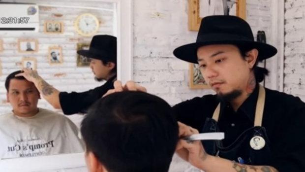 ประตูสู่เศรษฐี - ร้านตัดผมผู้ชายแนวใหม่ Promp's Cut