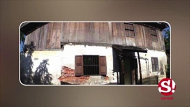 """เปิดบ้านโบราณของ """"กาย รัชชานนท์"""" ที่ สปป.ลาว บอกเลยหาดูไม่ได้ง่ายๆ"""