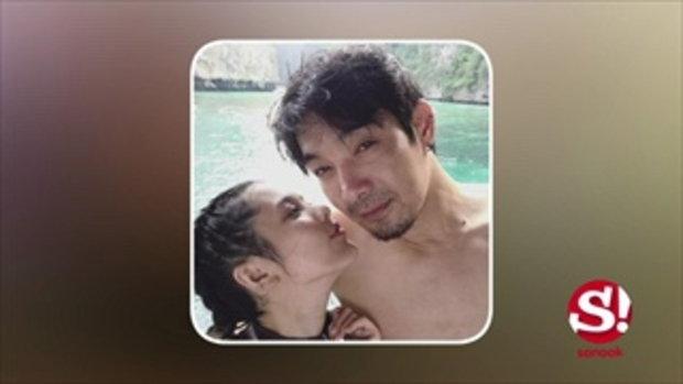 ภาพสุดฟิน โอ๊ต วรวุฒิ ควง จีน่า ภรรยาเด็กเที่ยวทะเลเติมรักหวาน