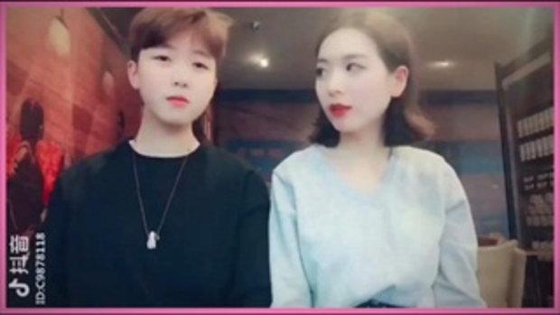 สาวๆจีนเต้นน่ารัก มาเป็นคู่ | คนโสดต้องดู.. เต้นตามกัน ! @1 | P2U