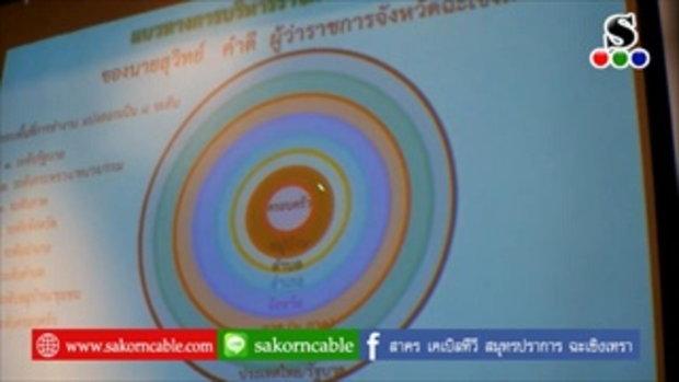 Sakorn News : มอบนโยบายและแนวทางการขับเคลื่อนการพัฒนาประเทศตามโครงการไทยนิยม ยั่งยืน