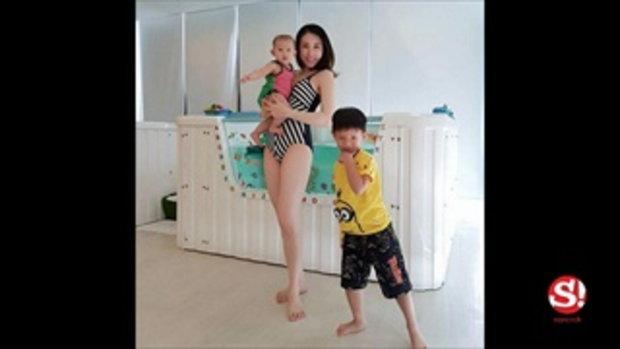 เบลล์ ไชน่าดอลล์ อวดหุ่นแซ่บ ไม่น่าเชื่อว่าเป็นคุณแม่ลูก 2 แล้ว