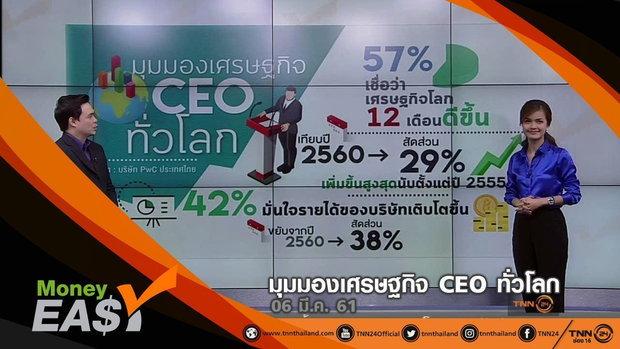 มุมมองเศรษฐกิจ CEO ทั่วโลก