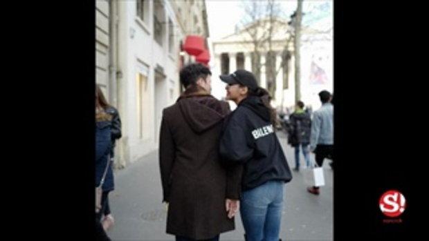 ช็อตชวนจิ้น ปุ๊กลุก เดินควงแขนไฮโซหนุ่ม มุ้งมิ้งเที่ยวปารีส