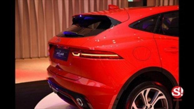 Jaguar E-Pace 2018 ใหม่ ขุมพลังดีเซล 2.0 ลิตร เคาะช่วงแนะนำ 3.5 ล้านบาท