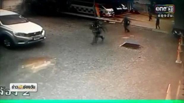 ไล่จับชายหนีจากรพ.หลังประสบอุบัติเหตุ พบในรถมียาบ้า | ข่าวช่องวัน | ช่อง one31