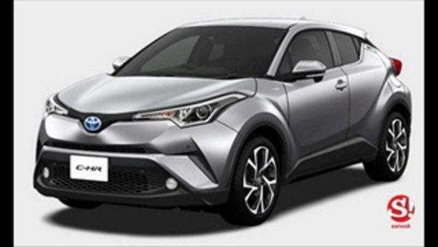 Toyota C-HR 2018 ทั้ง 16 สีของเวอร์ชั่นญี่ปุ่น สวยมากขอบอก!