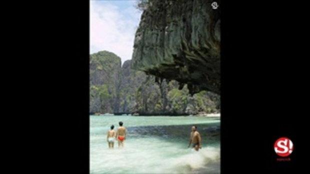 คลายร้อนที่เกาะหลาลิง