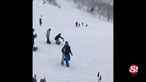 หลุยส์ สก๊อต จับมือ นุ่น รมิดา ซื้อที่ดินในญี่ปุ่น สร้างบ้านกลางหิมะไว้เล่นสกี