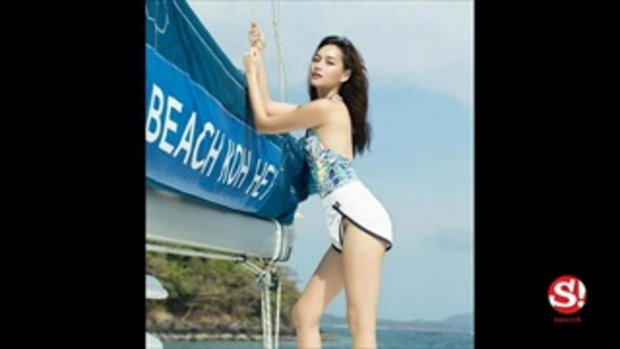 บี น้ำทิพย์ เชิญจินตนาการรูปชุดว่ายน้ำเต็มที่ ไม่เสียเซลฟ์ ก็แค่ขาหนีบ